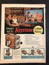 1953 Keystone Movie Cameras