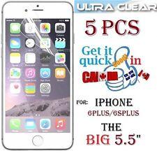 "5X HD clear screen protector iphone 6PLUS 5.5"" 6 Plus 6S+ film guard Protecteur"