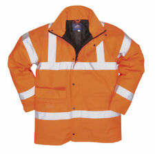 Hi-Visibility Orange Industrial Protective Jackets