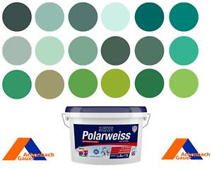 Wandfarbe, Deckenfarbe, Innenfarbe, hellgrün, dunkelgrün, grün, RAL, NCS,Brillux