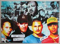 "RAGE AGAINST THE MACHINE "" Wake Up "" poster 22x16in (57x40cm)"