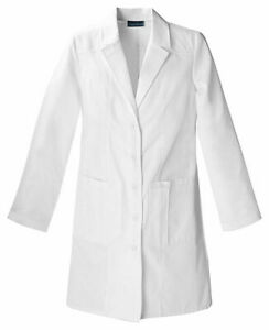"""Cherokee 36"""" Lab Coat Style Number 2319 WHTC White Free Shipping, New With Tags"""