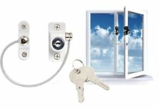 Window Door Restrictor Child Safety Locking UPVC Child Baby Security Wire Cable