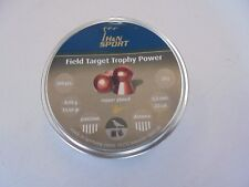 H and N Field Target trophey Power .22 airifle PELLET X 200 placcato in rame.