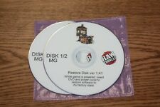 Terminator Salvation Fixed Guns Raw Thrills Recovery Dvd Disk Set V1.41 Used