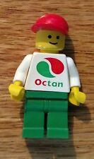 Vintage 1992 Lego minifig Octan Worker Red Cap