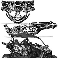 Yamaha YXZ1000R Side by Side Graphic Kit Decal Wrap YXZ 1000 R SXS UTV HAVOC WHT
