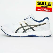 Asics Gel Contend 6 Men's s Running Shoes Fitness Gym Performance Trainers White