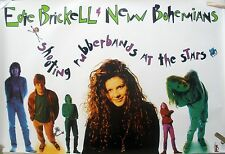 Edie Brickell Shooting Rubberbands At Stars 1988 Music Record Store Promo Poster