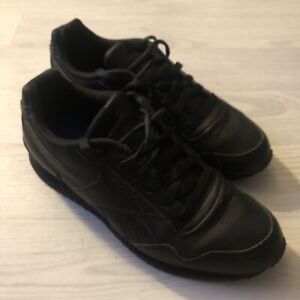 REEBOK CLASSIC LEATHER size uk  8 Triple Black, Great Condition, Hardly Any Wear