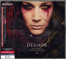 DELAIN-THE HUMAN CONTRADICTION-JAPAN 2 CD Ltd/Ed H40