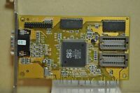 SIS 6215 V1.2 FCC ID: K4N6215V2-01X PCI Video Card from 486 PC
