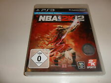 PlayStation 3  PS 3  NBA 2K12