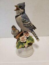 Blue Jay Bird Figurine Angeline original