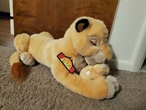 Disney Store Lion King Sarabi and Baby Simba Plush with Tag