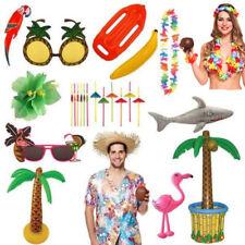 HAWAIIAN TROPICAL PARTY LUAU ACCESSORIES FANCY DRESS SUMMER HOLIDAY BEACH LOT