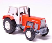 H0 BUSCH Traktor Fortschritt ZT 303-D rot weiß grau DDR Allradtraktor # 42848