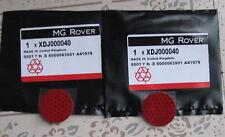 MG Rover 75 ZT MGZT 2 x Door Edge Red Warning Reflector MGF MGTF MGZR MGZS F TF