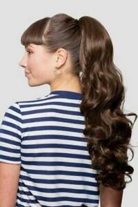 Stranded Long Curly Ponytail hairpiece