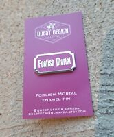 Haunted mansion foolish mortal fantasy pin