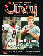 Cincy Cincinnati Bengals 2011 Team Guide A.J. Green and Andy Daulton