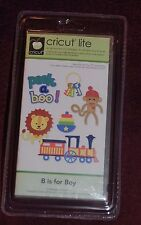 Brand New B is for Boy Cricut Cartridge-- Hard to Find