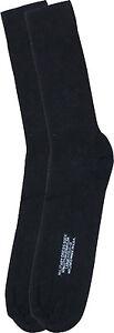 Mens Black Military NYCO Large Dress Socks Size 10-13 USA Made