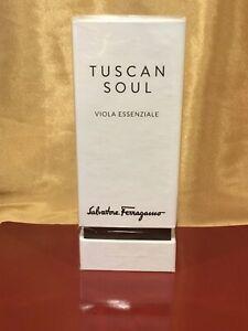 Salvatore Ferragamo Tuscan Soul VIOLA ESSENZIALE 75ml/ 2.5oz New Sealed in Box!