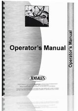 Allis Chalmers FR15 Front End Loader Operators Manual