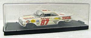 NASCAR Stock car 1959 Chevrolet Impala Buck Baker 1/43 Quartzo Portugal