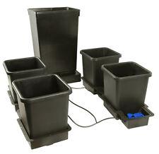 Autopot 4 pot système avec 47L réservoir, 15L big pots hydroponique kit pas easy 2 grow
