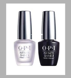 OPI Infinite Shine Prostay Gel Effects Primer 1 Base & Gloss 3 Top Coat 15ml £9