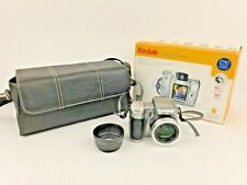 Kodak EasyShare Z740 Digital 5MP Camera,Lens Adaptor, Case