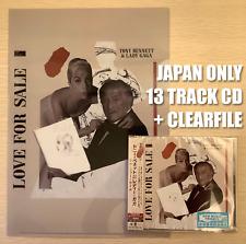 VERY LAST JAPAN CLEAR FILE+LOVE FOR SALE CD+3 BONUSTRACK! LADY GAGA TONY BENNETT