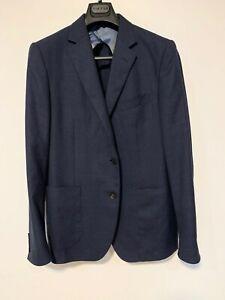 Pal Zileri Men's Unstructured Wool Navy Sport Coat/ Blazer 44R
