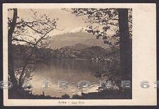 TORINO IVREA 107 LAGO SIRIO Cartolina viaggiata 1925 TIMBRO AMBULANTE