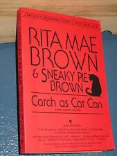 Catch As Cat Can by Rita Mae Brown ARC *RARE* paperback mystery 0553107445
