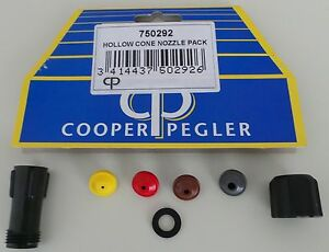 COOPER PEGLER SPRAY SP009 CONE NOZZLE PACK 750292 NEW