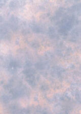 Photographic Background, Studio Backdrop. 2.4m x 2.4, Pink / Blue, Clouded.