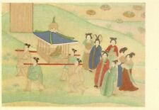 CARTE POSTALE ASIE CHINE SEDAN AND RETINUE TANG DYNASTY FORMAT 10 x 15 cm