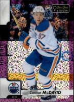 2017-18 O-Pee-Chee Platinum Hockey Violet Pixel Singles (Pick Your Cards)