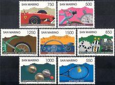 San Marino 1997 Sports/Games/Cars/Motor Bike/Cycling/Motorcycle/Tennis 7v n43437