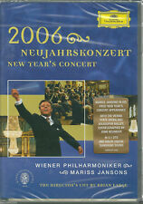 2006 New Year's Concert (2006) DVD NUOVO Wiener Philharmoniker Mariss Jansons