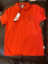 New Little Marc Jacobs Boys Polo Tee Shirt Size 10