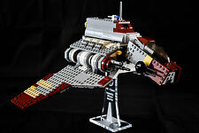 Star Wars Lego 8019 Republic Attack Shuttle - custom display stand only