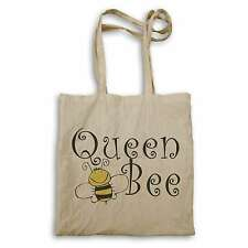 Queen Bee Yellow / Black Funny Novelty  Tote bag bb10r
