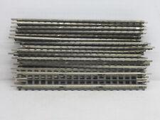 19 gerade Gleise / Gleismaterial, Trix Express 701, 1:87 / HO, o.OVP, alt