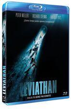 LEVIATHAN  (1989) **Blu Ray B** Peter Weller, Richard Crenna, Amanda Pays
