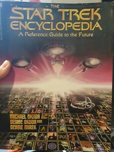 1994 The Star Trek Encyclopedia A Reference Guide to the Future Vintage Book