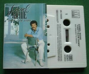 Lionel Richie Can't Slow Down inc All Night Long / Hello + Cassette Tape TESTED